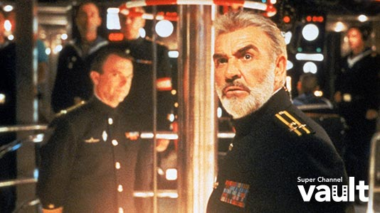 The Hunt for Red October Premieres May 13 6:05AM | Only on Super Channel