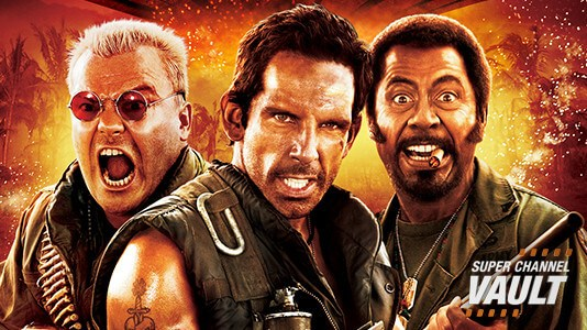 Tropic Thunder Premieres Jun 02 12:00PM | Only on Super Channel