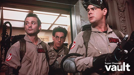 Ghostbusters Premieres May 04 6:05AM | Only on Super Channel