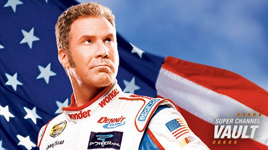 Talladega Nights: The Ballad of Ricky Bobby Premieres May 19 9:35AM | Only on Super Channel