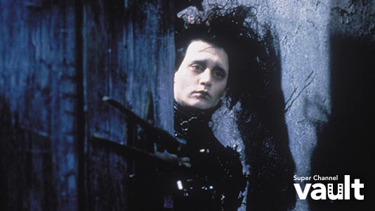 Edward Scissorhands Only On Super Channel