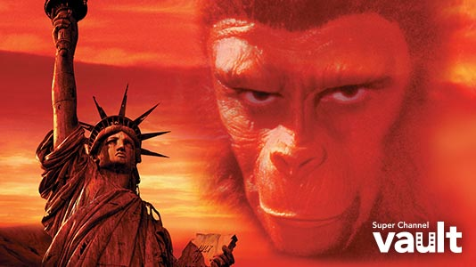 Planet of the Apes '68 Premieres Sep 01 11:30AM | Only on Super Channel