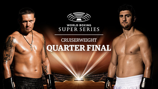 Super Channel Sports Presents: World Boxing Super Series: Usyk vs. Huck Only On Super Channel