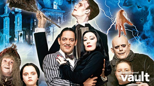 The Addams Family Only On Super Channel