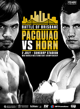 Boxing: Manny Pacquiao vs. Jeff Horn