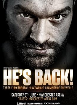Boxing: Fury vs. Seferi