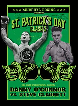 Boxing: Danny O'Connor vs. Steve Claggett