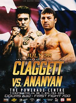 Boxing: Ananyan vs. Claggett