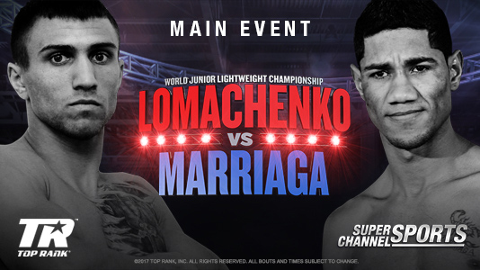 Boxing: Lomachenko vs. Marriaga Premieres Mar 31 12:00AM | Only on Super Channel