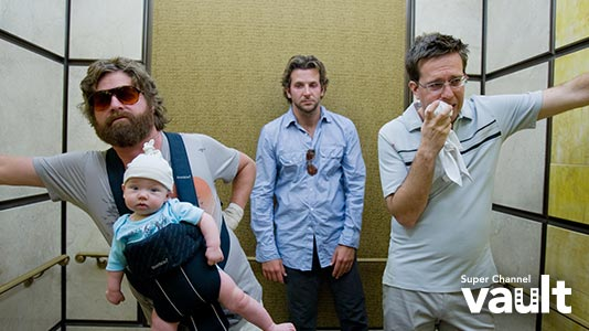 The Hangover Premieres Jul 07 9:00PM   Only on Super Channel