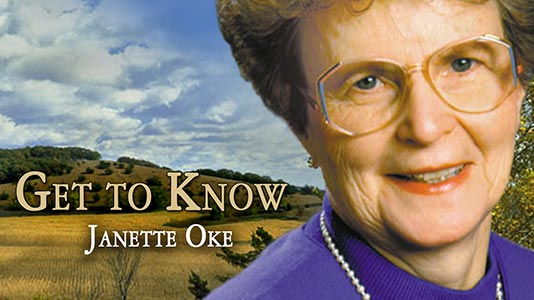 Get to Know Janette Oke Premieres Jul 01 4:15PM   Only on Super Channel