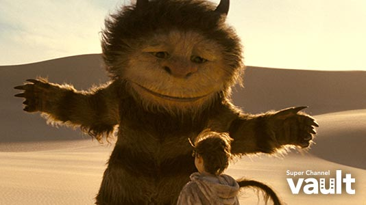 Where the Wild Things Are Premieres Aug 10 8:00PM   Only on Super Channel