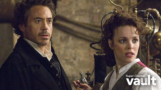 Sherlock Holmes Premieres Aug 16 9:05PM   Only on Super Channel