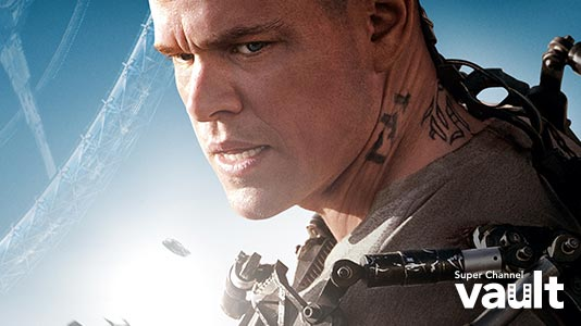 Elysium Premieres Feb 02 8:00PM | Only on Super Channel