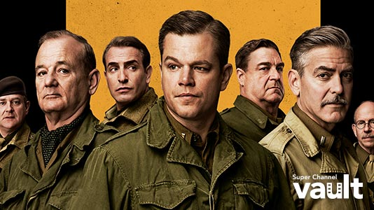 The Monuments Men Premieres Feb 20 8:00PM | Only on Super Channel