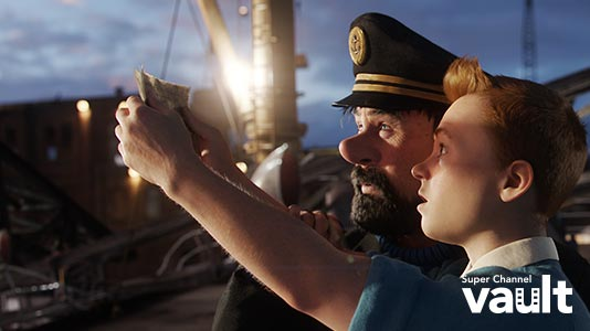 The Adventures of Tintin Premieres Apr 20 8:05PM | Only on Super Channel
