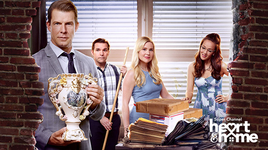 Signed, Sealed, Delivered: Home Again Premieres Jun 14 7:30PM | Only on Super Channel