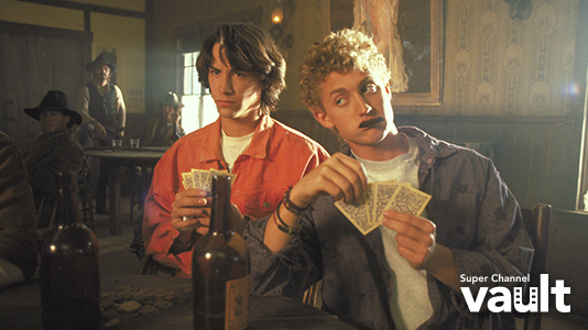 Bill and Ted's Excellent Adventure Premieres Jul 05 8:00PM | Only on Super Channel