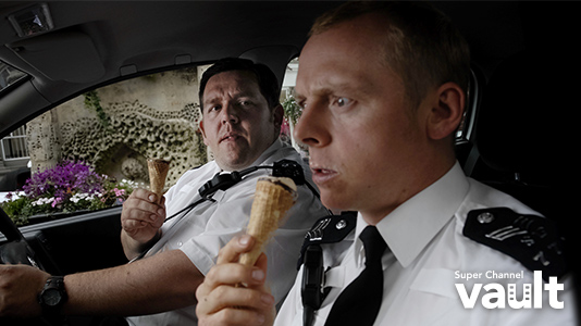 Hot Fuzz Premieres Nov 09 8:00PM | Only on Super Channel