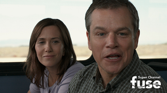 Downsizing Premieres Jul 03 9:00PM | Only on Super Channel