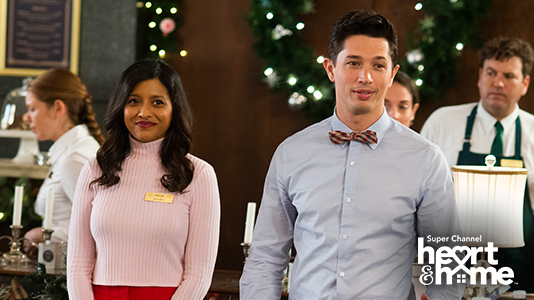 Christmas 9 to 5 Premieres Nov 21 8:00PM | Only on Super Channel