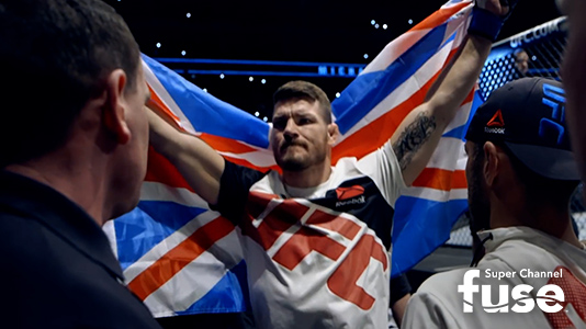 Bisping Premieres Feb 06 9:00PM | Only on Super Channel