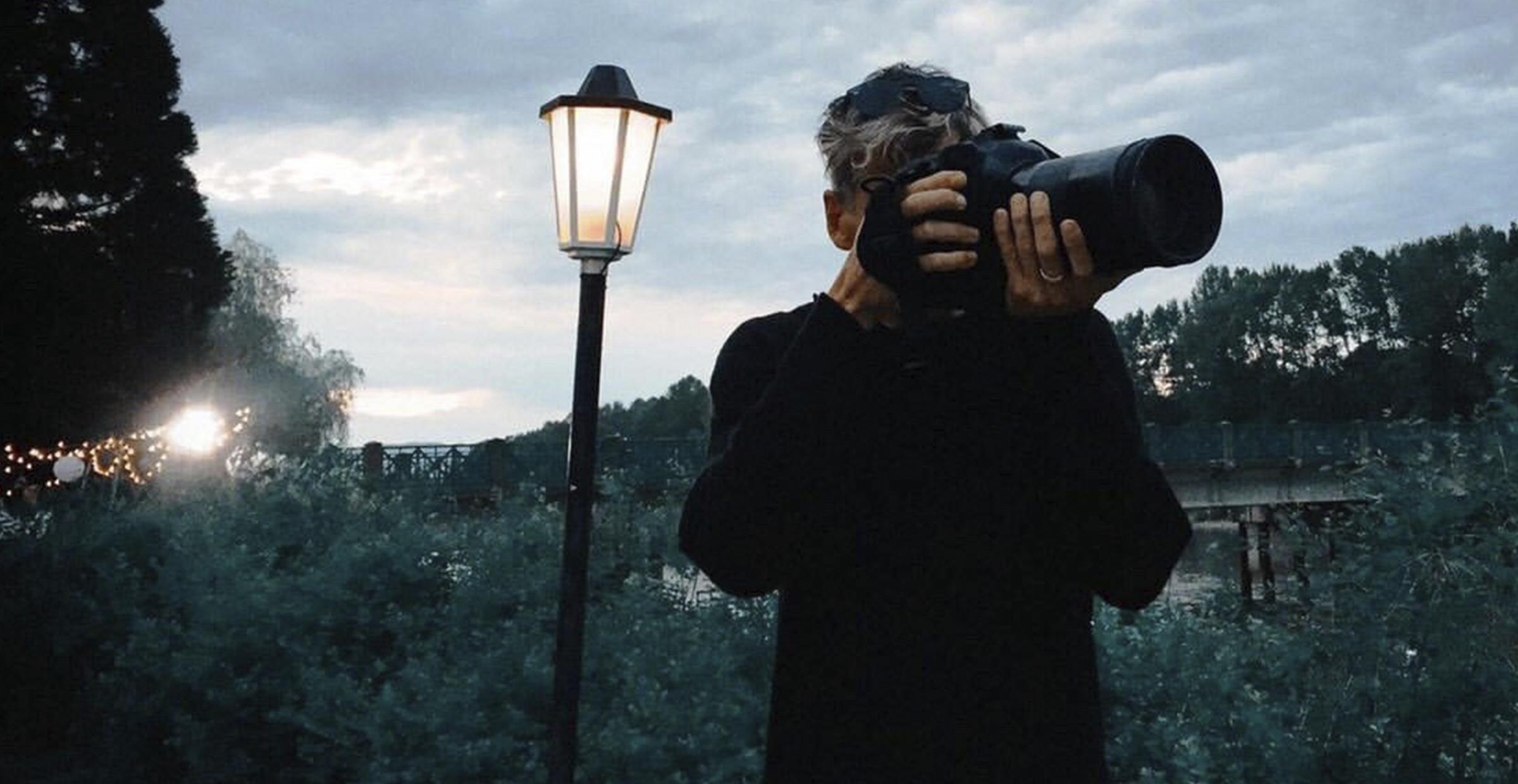 Ricardo Hubbs and his Camera