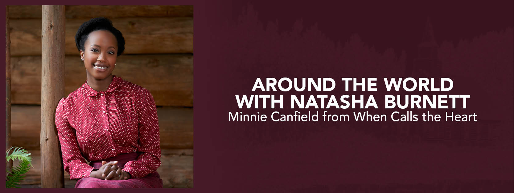 Around the World with Natasha Burnett
