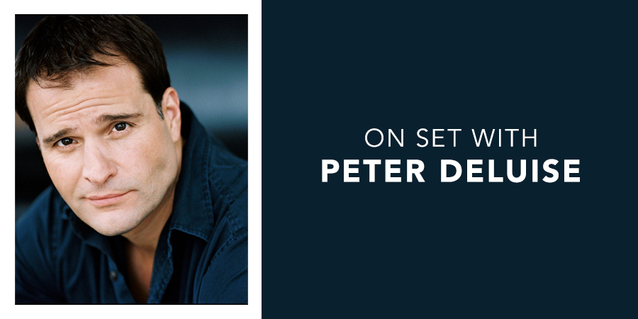 On Set with Peter DeLuise
