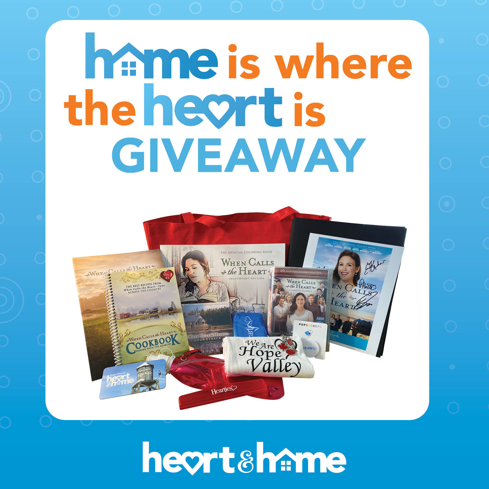 Home is Where the Heart is Giveaway thumbnail