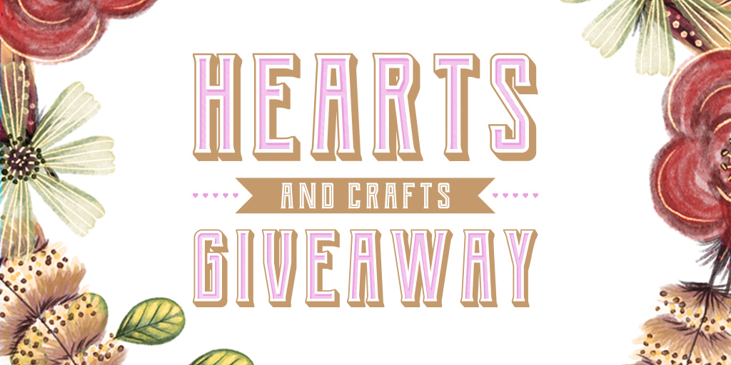 SC Hearts and Crafts Giveaway