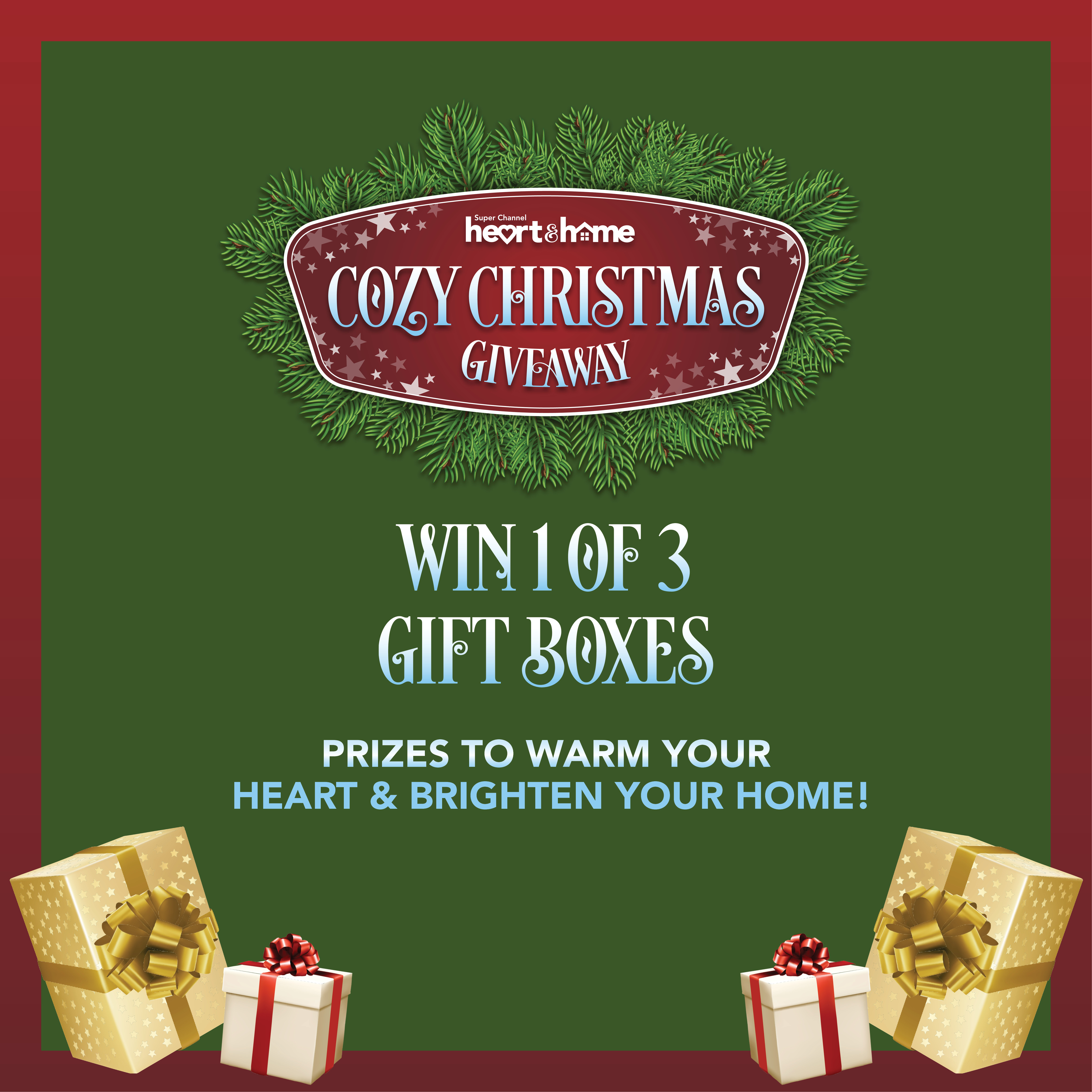 Heart & Home Cozy Christmas Giveaway