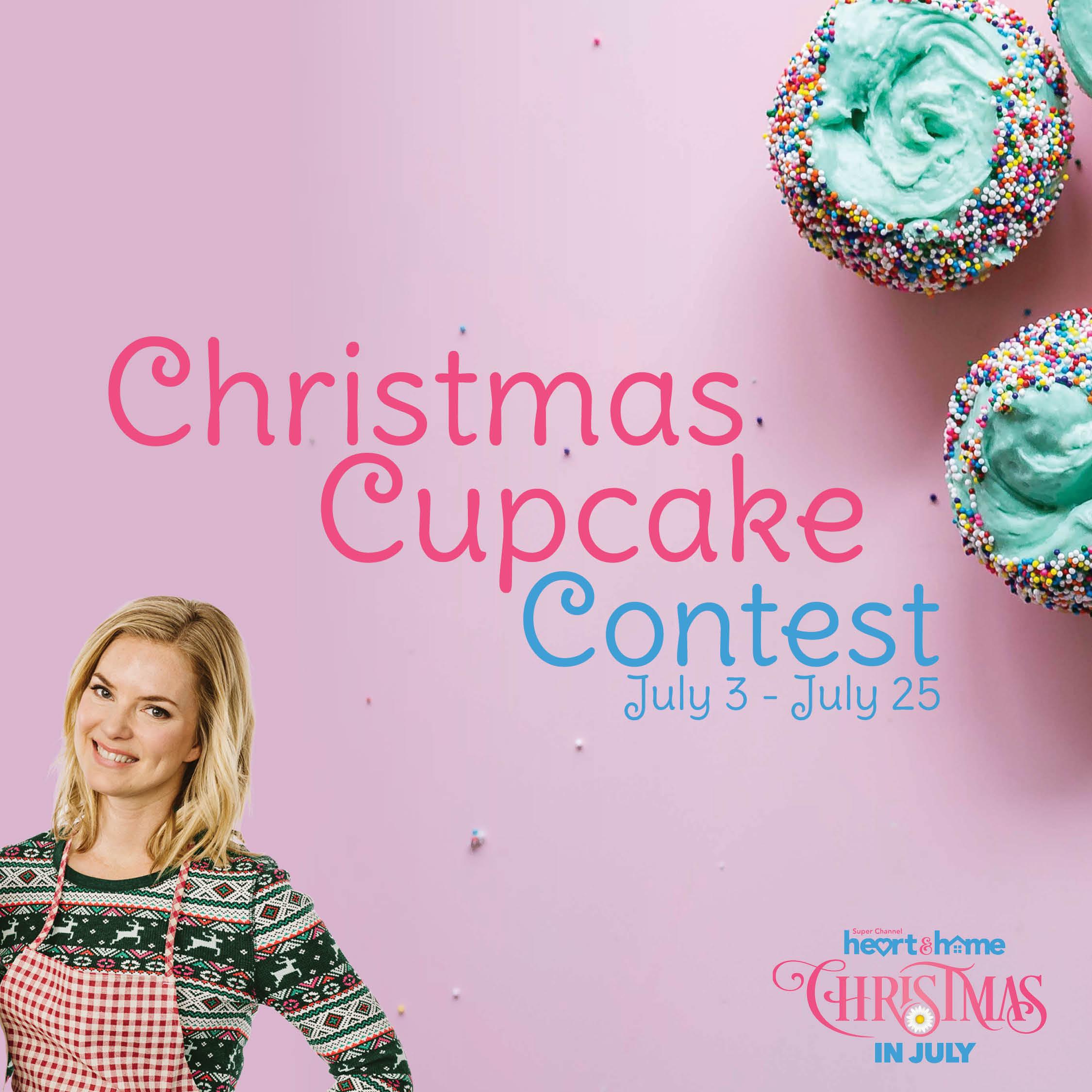 Christmas Cupcake Contest